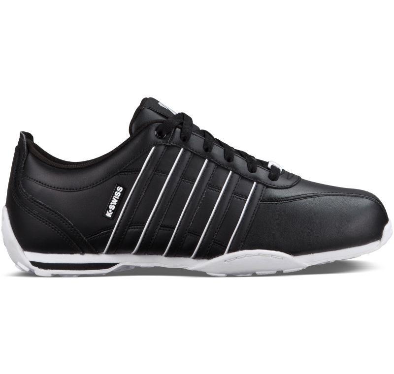K-Swiss Arvee 1.5 schwarz weiß Leder Sneaker Schuhe Neu 02453003