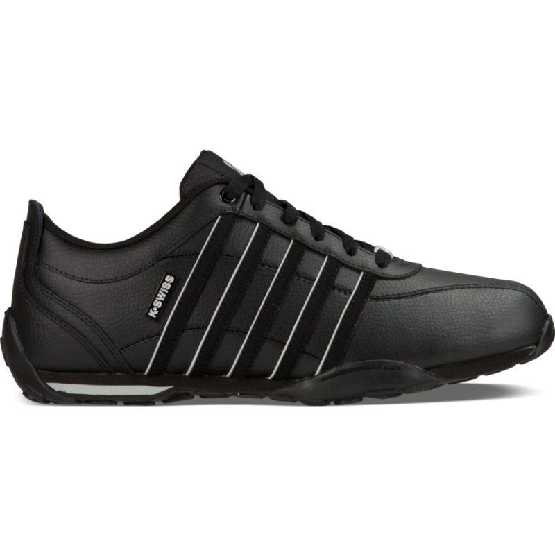 K-Swiss Arvee 1.5 schwarz Low-Cut Herren Sneaker Freizeitschuhe Leder