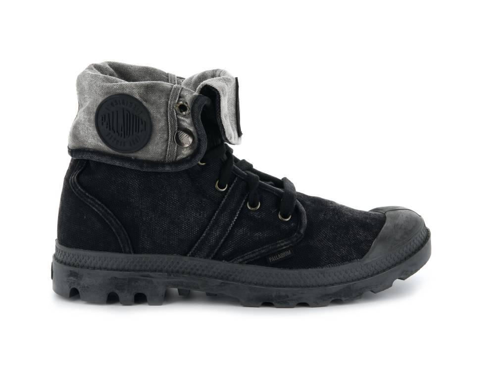 PALLADIUM Pallabrouse Baggy Sneaker Ganzjahres-Stiefellette schwarz Black Herren