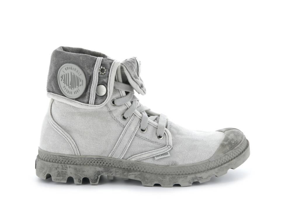PALLADIUM Pallabrouse Baggy Sneaker Stiefellette hellgrau Vapor Metal Herren