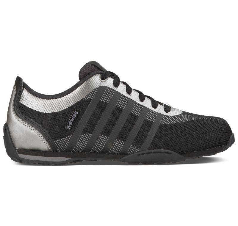 K-Swiss Arvee 1.5 Tech schwarz grau Leder Mesh Sneaker Schuhe Neu 05410052