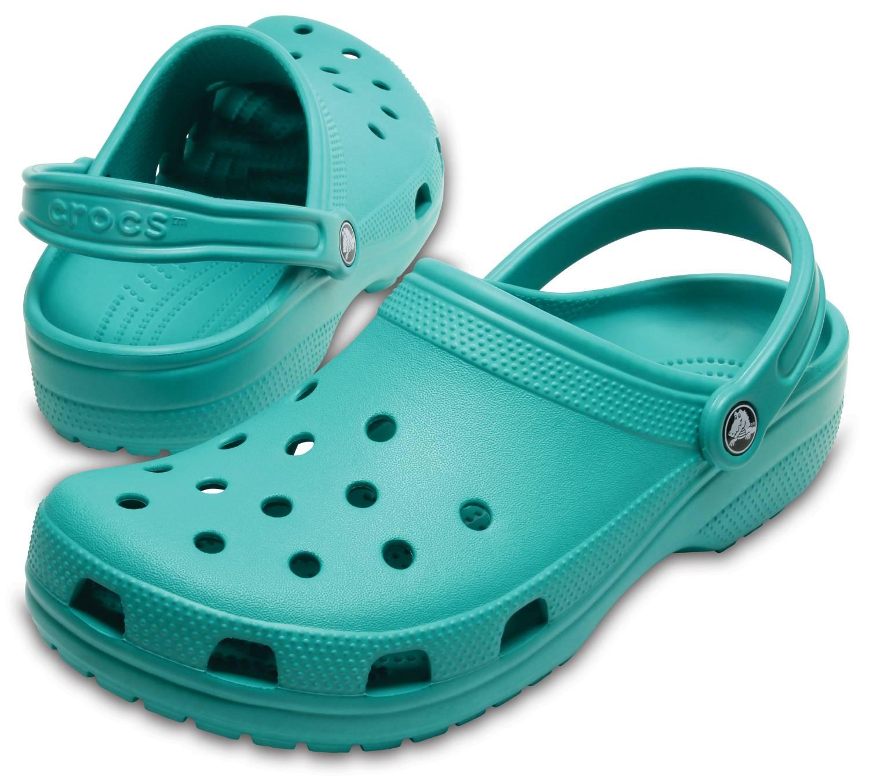 the best attitude ddff2 352ea Details zu Crocs Classic Türkis Tropical Teal Schuhe Kunststoff Clogs  Herren Damen Unisex