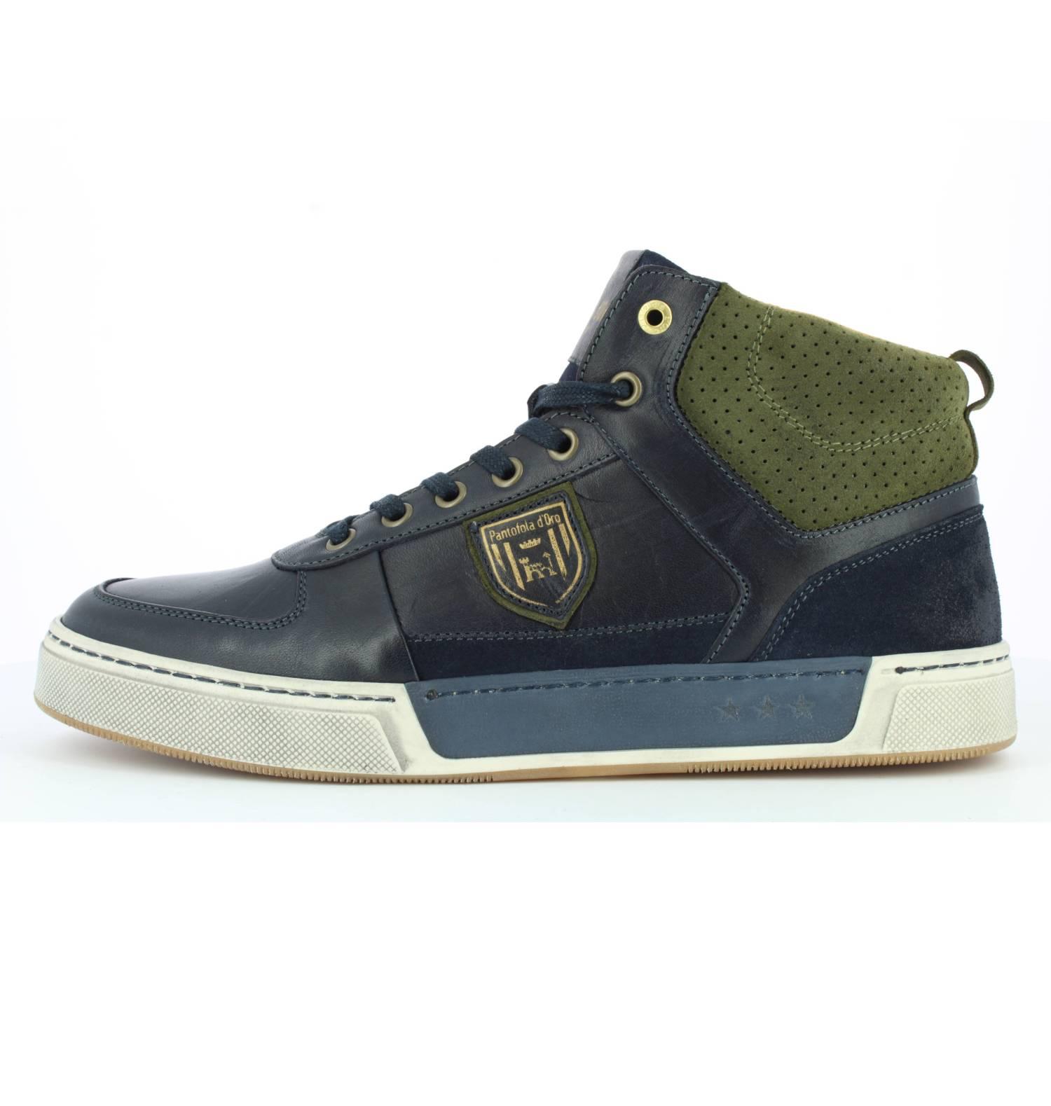 Pantofola d'Oro Frederico Uomo Mid dunkelblau Dress Blues Mid Sneaker Herren