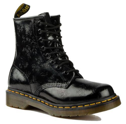 DR. MARTENS 1460 8-Loch Stiefel Schwarz Leder Boots 11821018