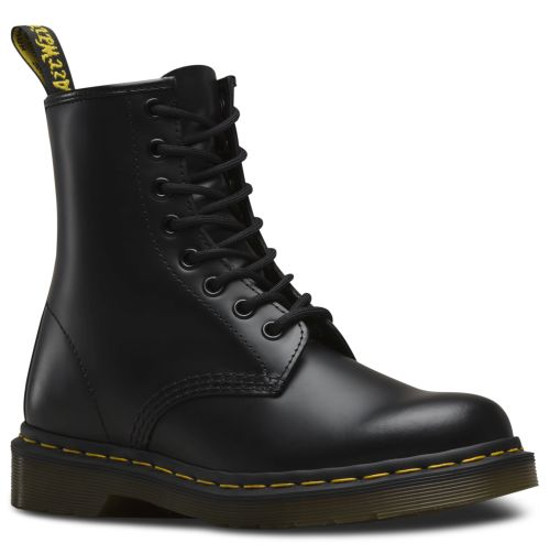 DR. MARTENS 1460 8-Loch Stiefel Schwarz Glattleder Boots 11822006