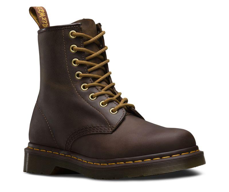 Dr. Martens 1460 8-Eye Boot Aztec braun Schnürstiefel Boots Leder Schuhe