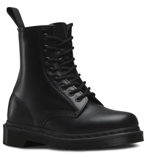 DR. MARTENS 1460 8-Loch Stiefel Schwarz Mono Glattleder Boots 14353001