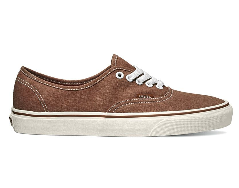 Vans Authentic Braun Canvas Sneaker Schuhe 18BH0X