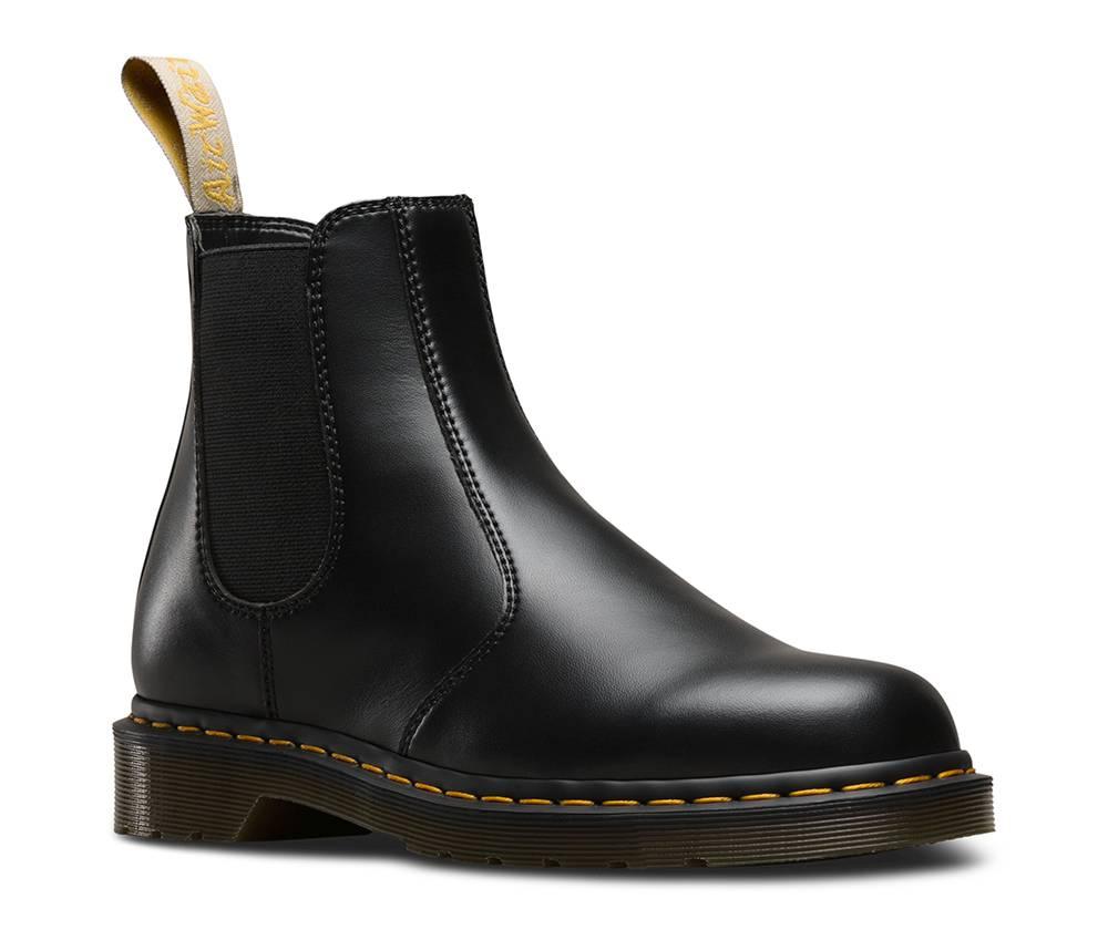 Dr. Martens 2976 Chelsea Boot Vegan schwarz black Stiefelette Damen