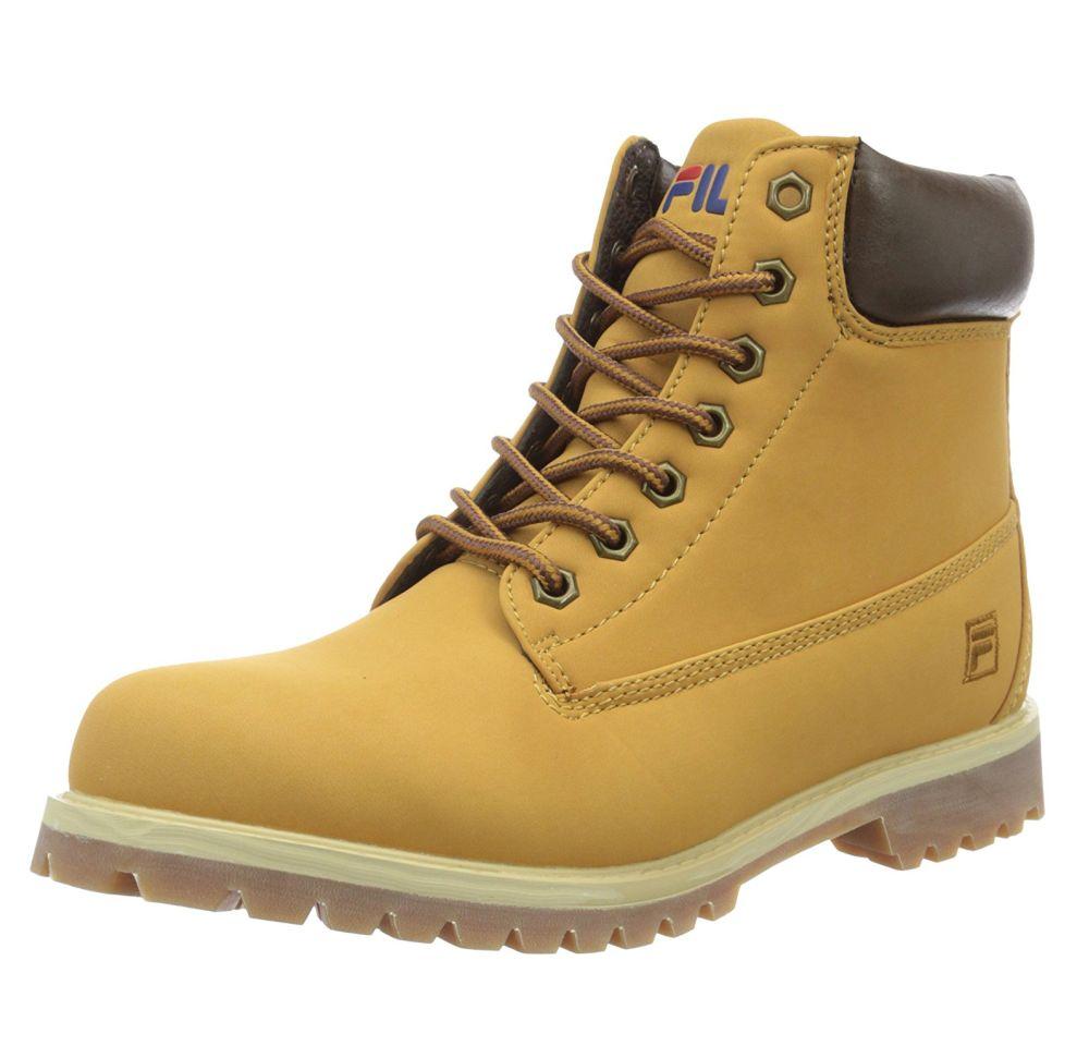 Fila Maverick creme beige Leder Textil Stiefel Schuhe Neu 4010245.EGU