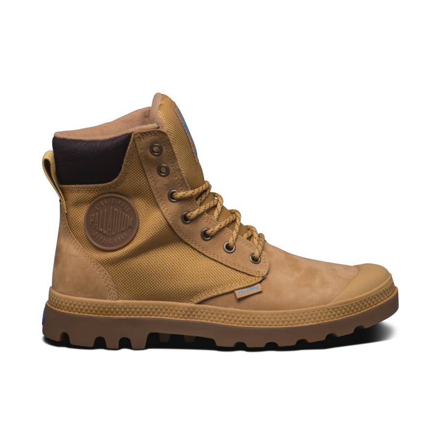 Palladium Pampa Sport Cuff WPN beige gold Unisex Leder Stiefel Boot 73234228