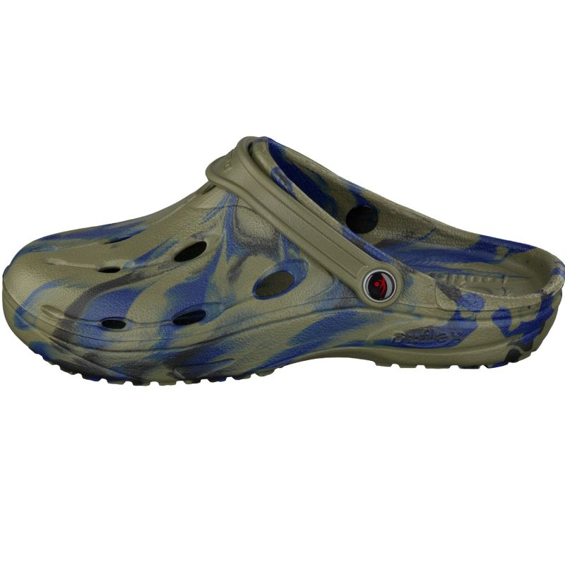 Chung Shi Dux Khaki Navy Duflex Sandalen Schuhe Clogs Orthopädie 8900121