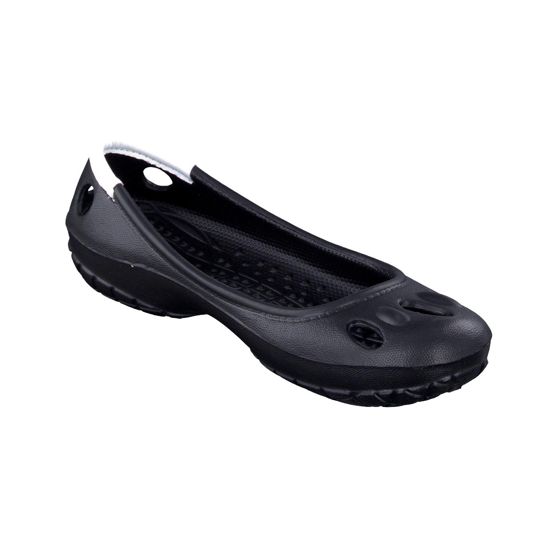 Chung Shi Dux Ballerina schwarz schwarz Orthopädische Sandalen Ballerina Damen