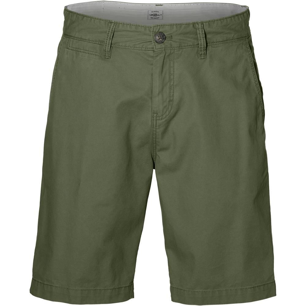 O´NEILL Friday Night Chino Shorts Grün Bronze Green Baumwolle kurze Hose Herren