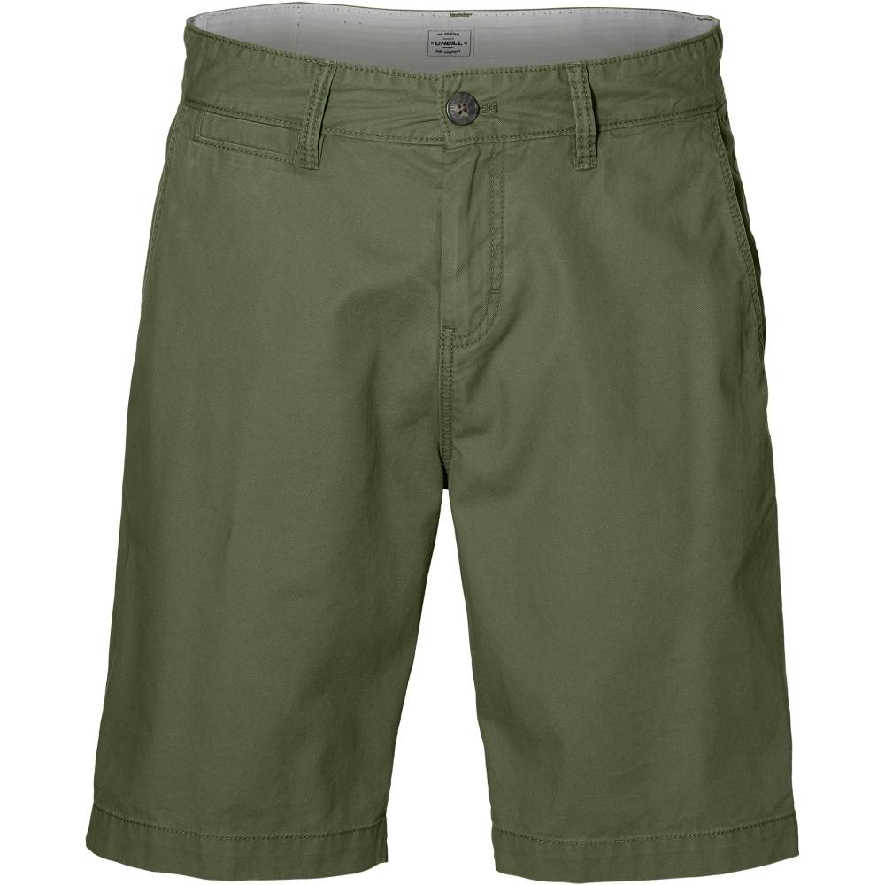 O´NEILL Friday Night Chino Shorts Grün Bronze Green Baumwolle kurze Hose Herren