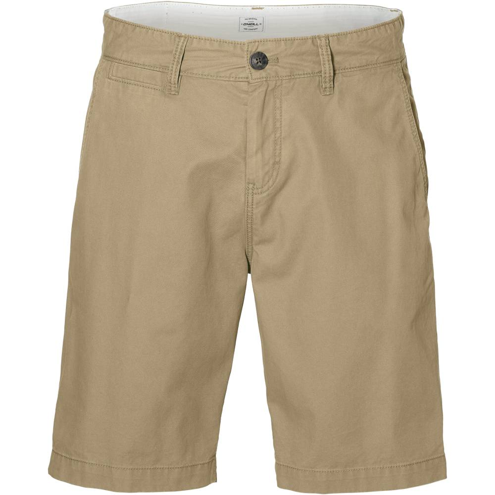 O´NEILL Friday Night Chino Shorts Beige Cornstalk Baumwolle kurze Hose Herren