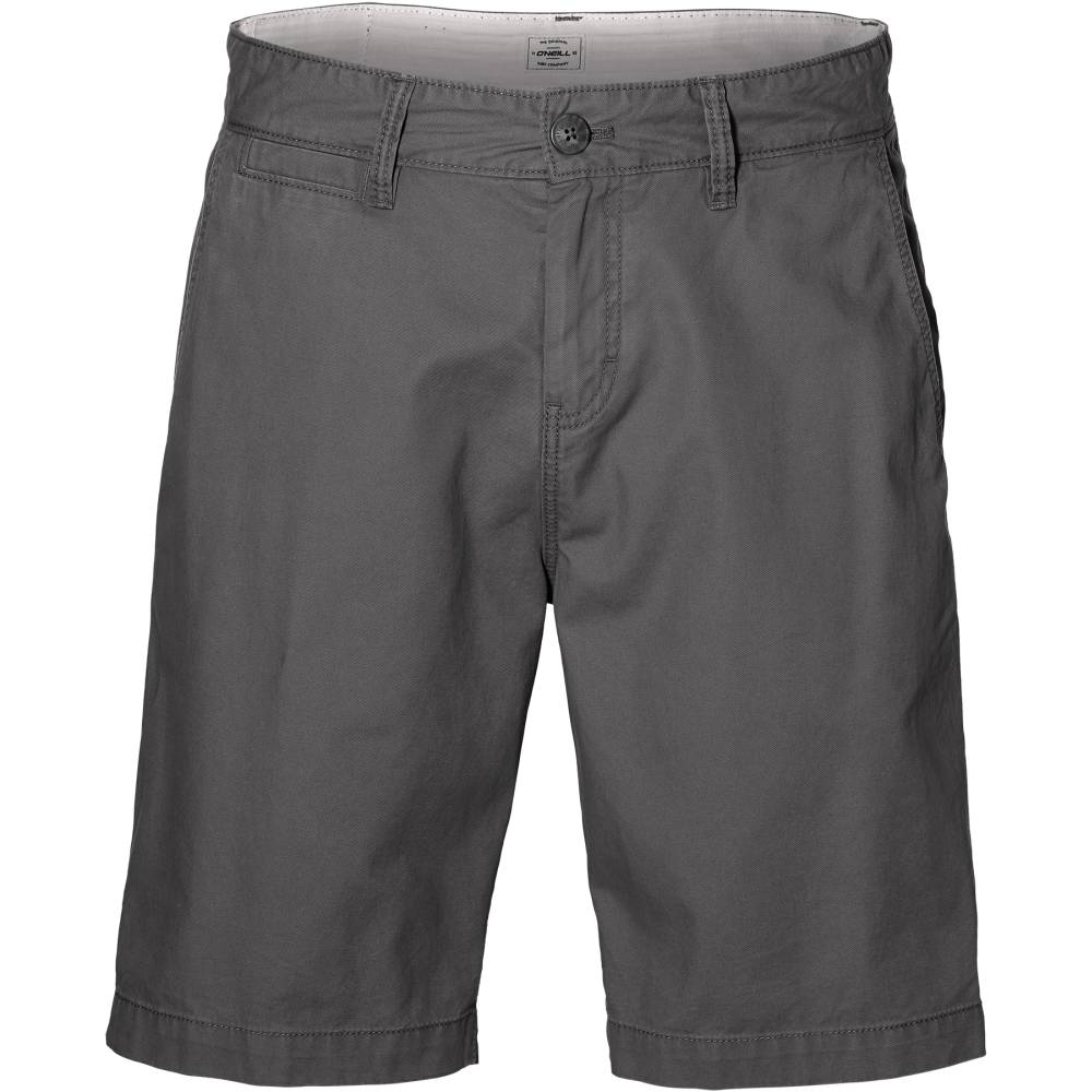 O´NEILL Friday Night Chino Shorts Grau Asphalt Baumwolle kurze Hose Herren