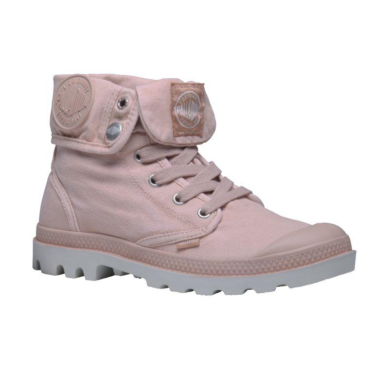 Palladium Baggy Women Rosa Grau Stiefel Boots Schuhe 92353671