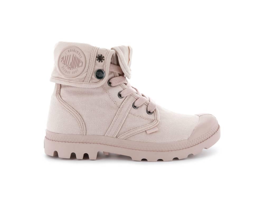 PALLADIUM Pallabrouse Baggy Sneaker Stiefellette rosa Rose Dust Silver Damen