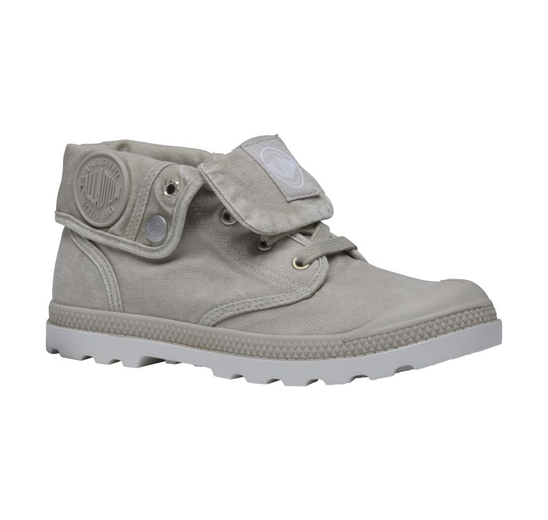 Palladium Baggy Low LP Women Grau Stiefel Boots Schuhe 93314027