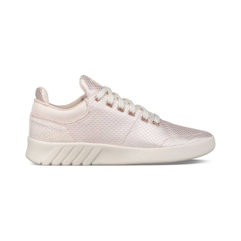 K-SWISS Aero Trainer T Low-Cut Sneaker Schuhe creme Angel Wing beige Leder Damen