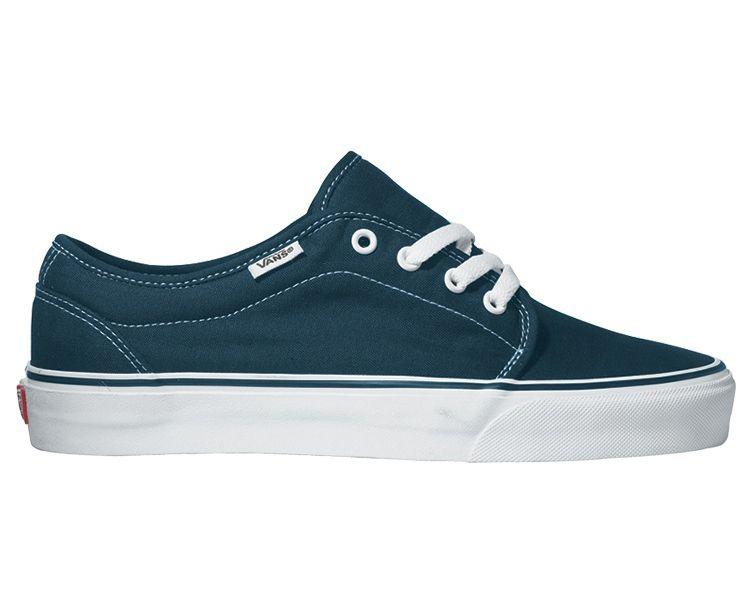 Vans 106 Vulcanized Navy Blau einfarbig Sneaker Schuhe 99ZNVY