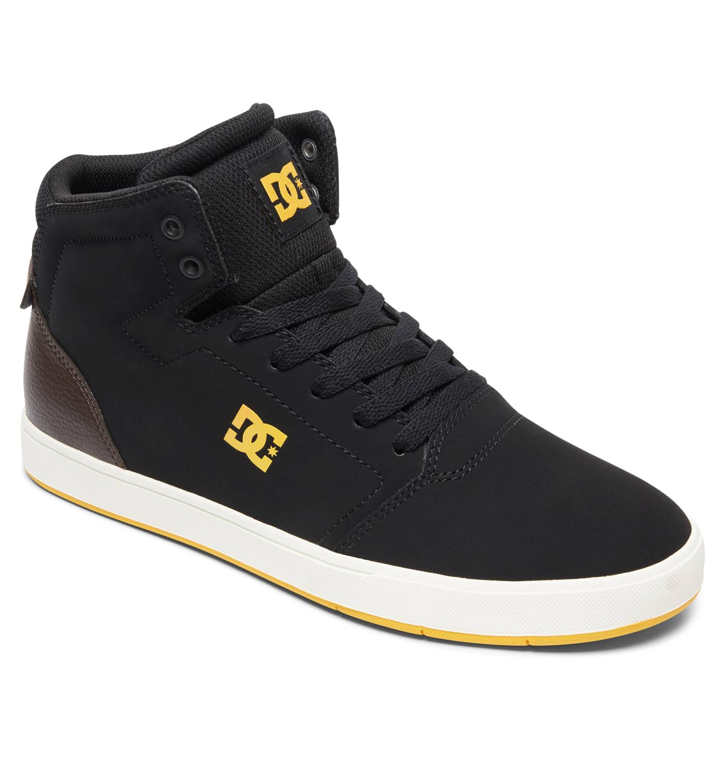 DC Shoes Crisis High schwarz Black Brown Black Hi Sneaker Chukka Boots Herren