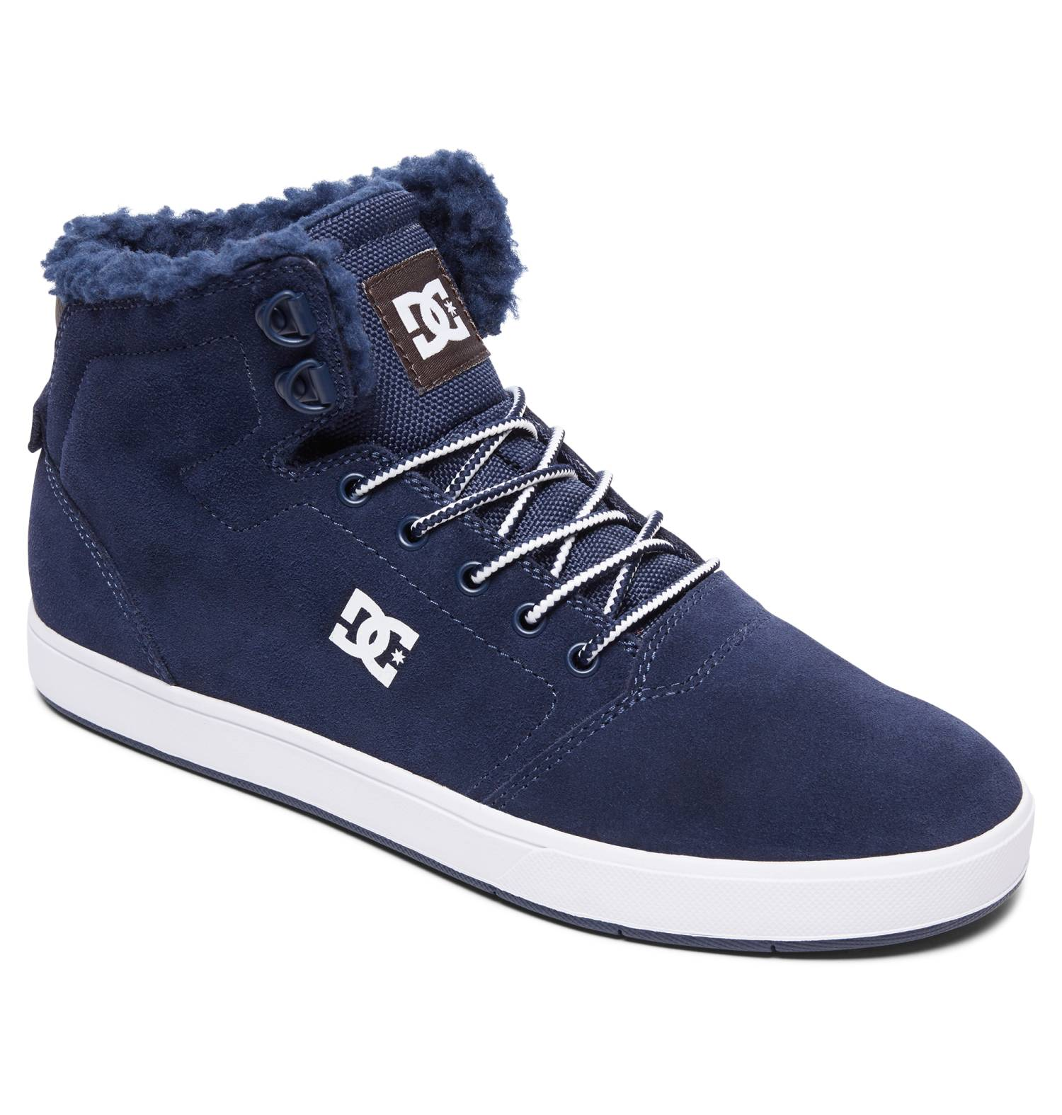 DC Shoes Crisis High Winter navyblau Navy Khaki Hi Sneaker Chukka Boots Herren