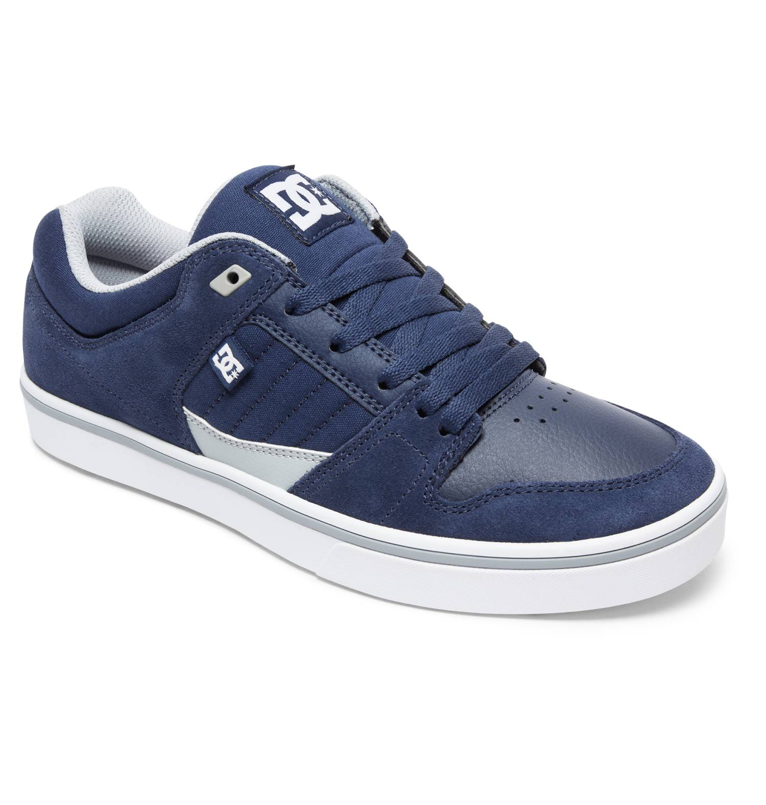 DC Shoes Course 2 navyblau Navy Blue White Low-Cut Sneaker Skateschuhe Herren