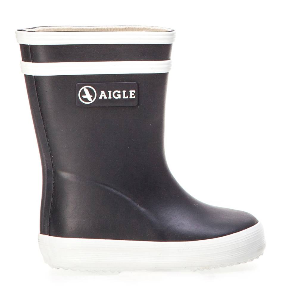 Aigle Baby Flac blau weiß marine blanc Schuhe Gummistiefel Jungen Mädchen Kinder