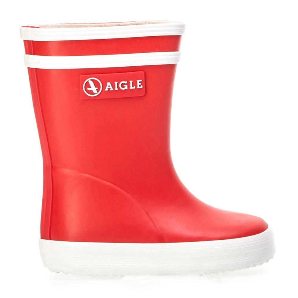 Aigle Baby Flac rot weiß rouge blanc Schuhe Gummistiefel Jungen Mädchen Kinder