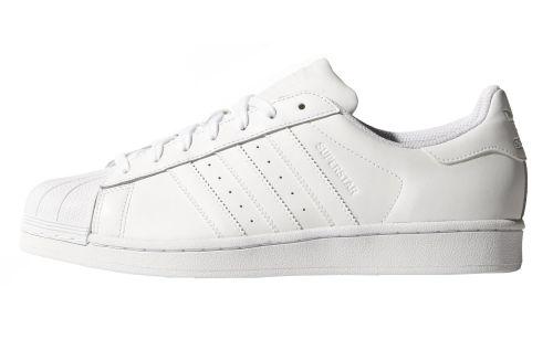 Adidas Superstar weiß Leder Sneaker Skate Schuhe Low-Cut B27136-