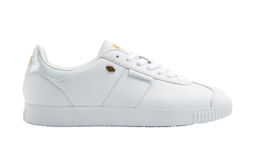 BRITISH KNIGHTS Point Sneaker Weiß white PU Schuhe Herren