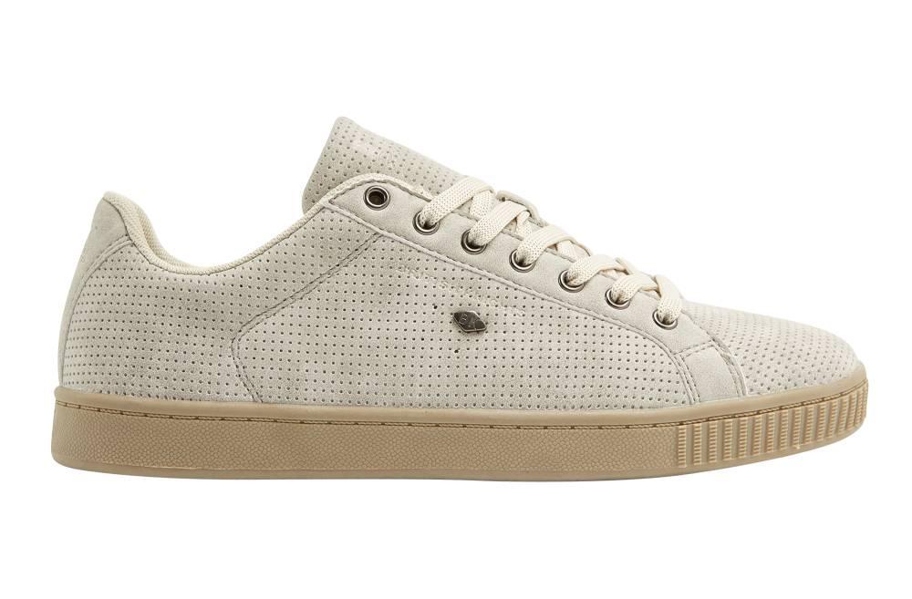 BRITISH KNIGHTS Duke Sneaker beige beige beige perforiert PU Schuhe Herren