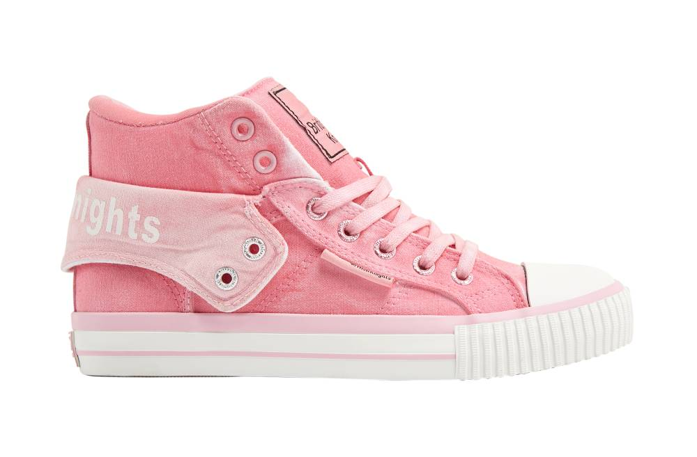 BRITISH KNIGHTS Roco Hi-Cut Sneaker pink pink Sprayed Canvas Schuhe