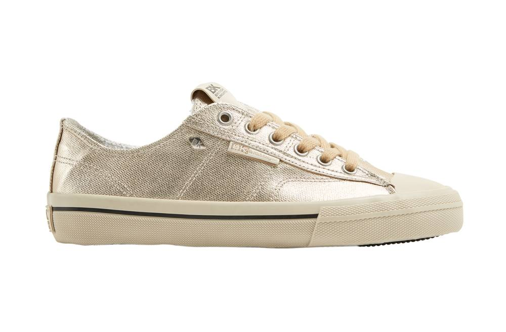 BRITISH KNIGHTS Chase Hi-Cut Sneaker gold gold Metallic Canvas Schuhe