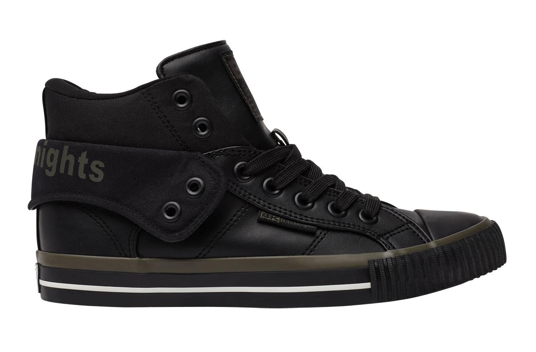 British Knights Roco schwarz khaki black khaki white black Hi Sneaker Unisex