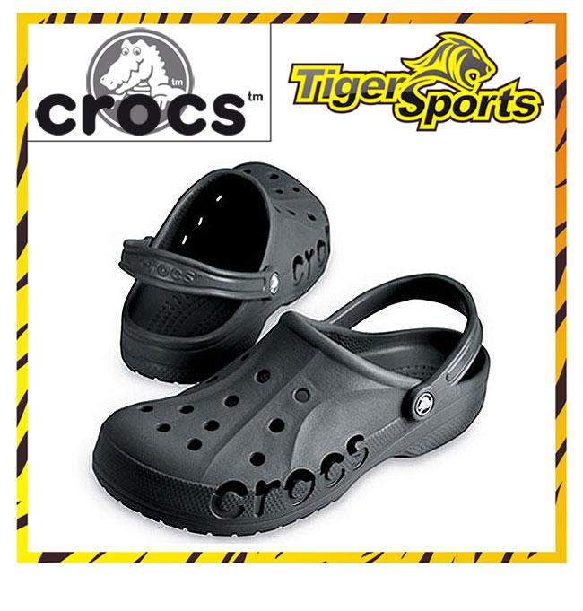 Crocs Baya Graphite Grau Sandalen Clogs BA15 Größen: 36 48