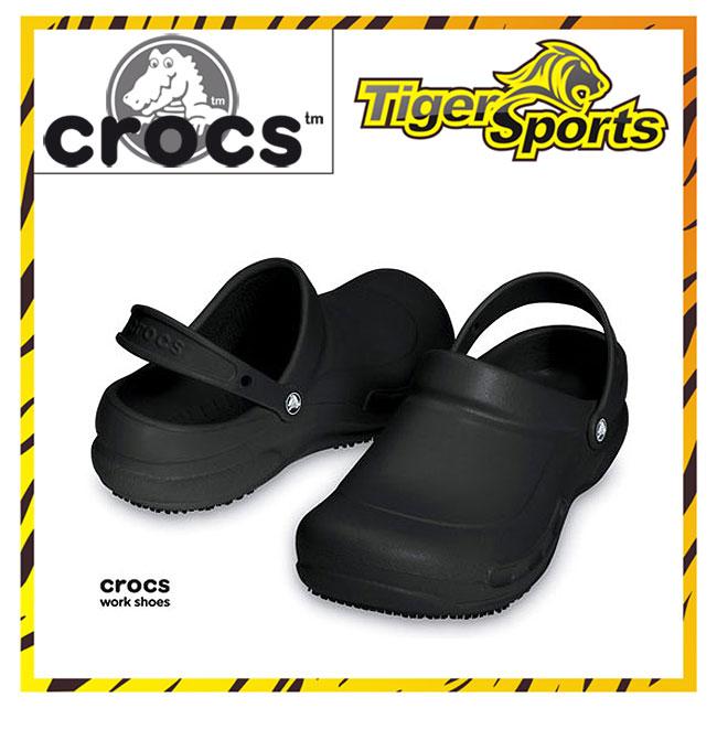 Crocs Bistro Arbeitsschuhe Schwarz Clogs BI1 Größen: 36 48