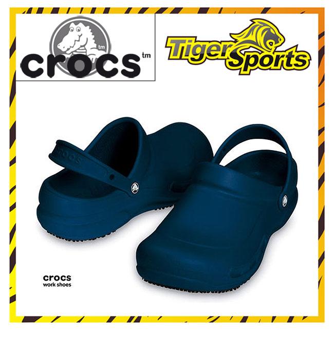 Crocs Bistro Arbeitsschuhe Navy Blau Clogs BI3 Größen: 36-48