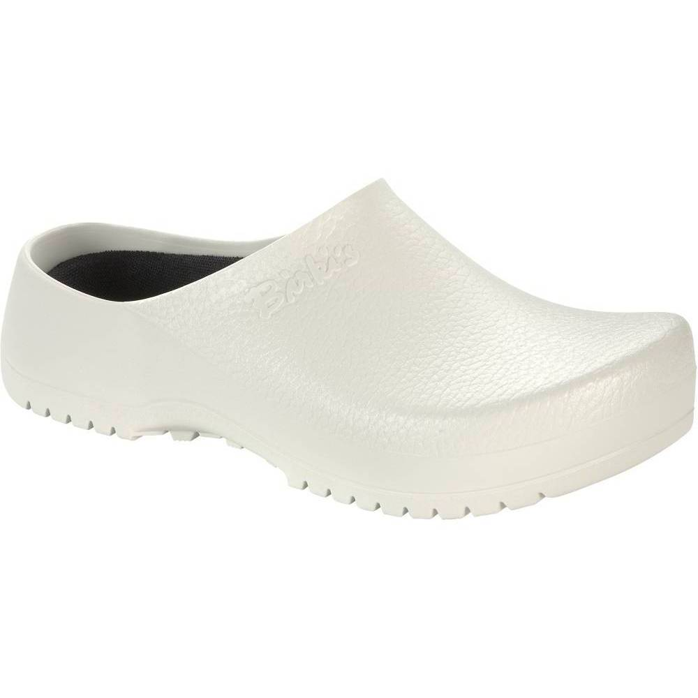 BIRKENSTOCK Super-Birki Clogs weiß White PU Polyurethan normal