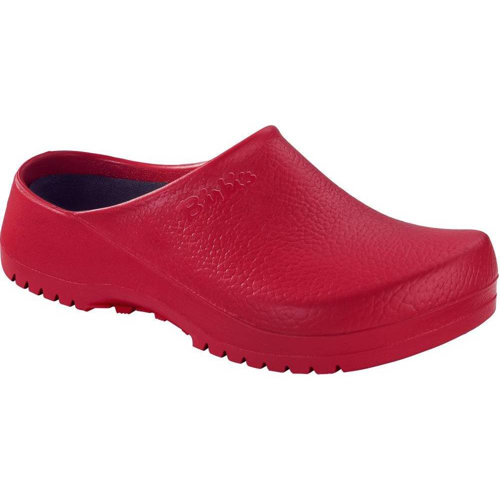 BIRKENSTOCK Super-Birki Clogs rot Red PU Polyurethan normal