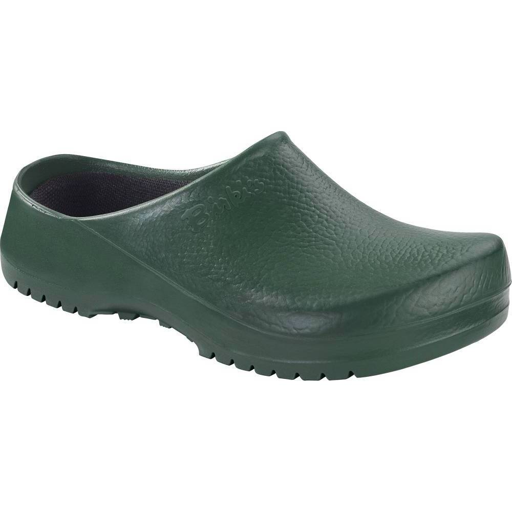 BIRKENSTOCK Super-Birki Clogs grün Green PU Polyurethan normal