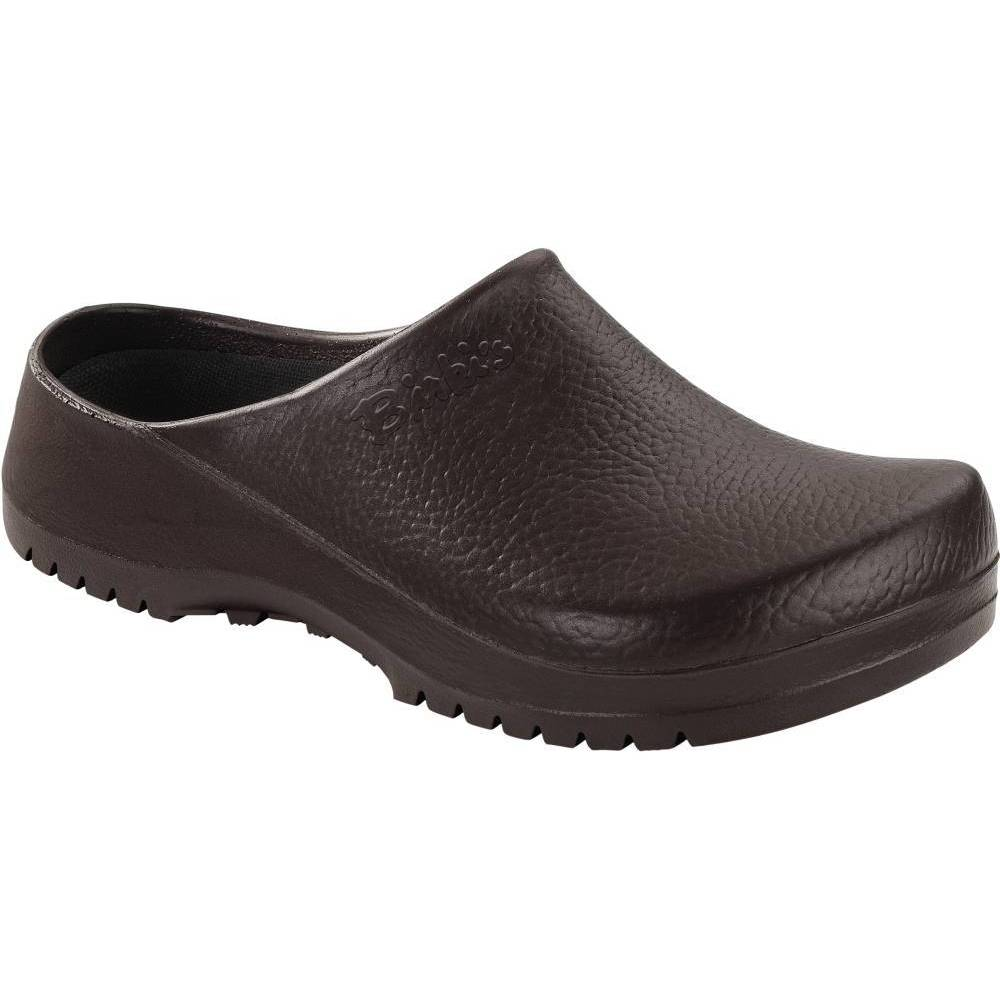 BIRKENSTOCK Super-Birki Clogs braun Brown PU Polyurethan normal