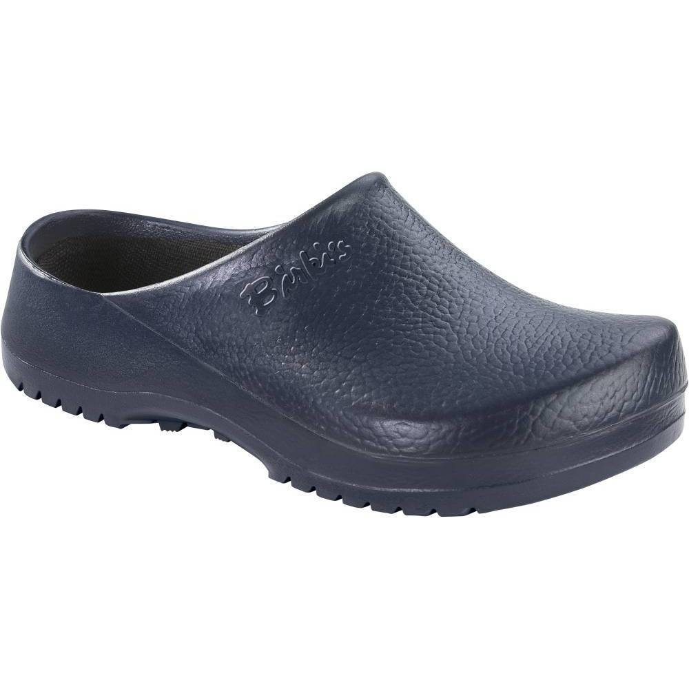 BIRKENSTOCK Super-Birki Clogs blau Blue PU Polyurethan normal