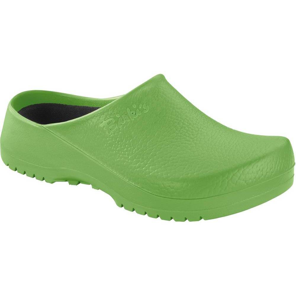BIRKENSTOCK Super-Birki Clogs grün Apple Green PU Polyurethan normal