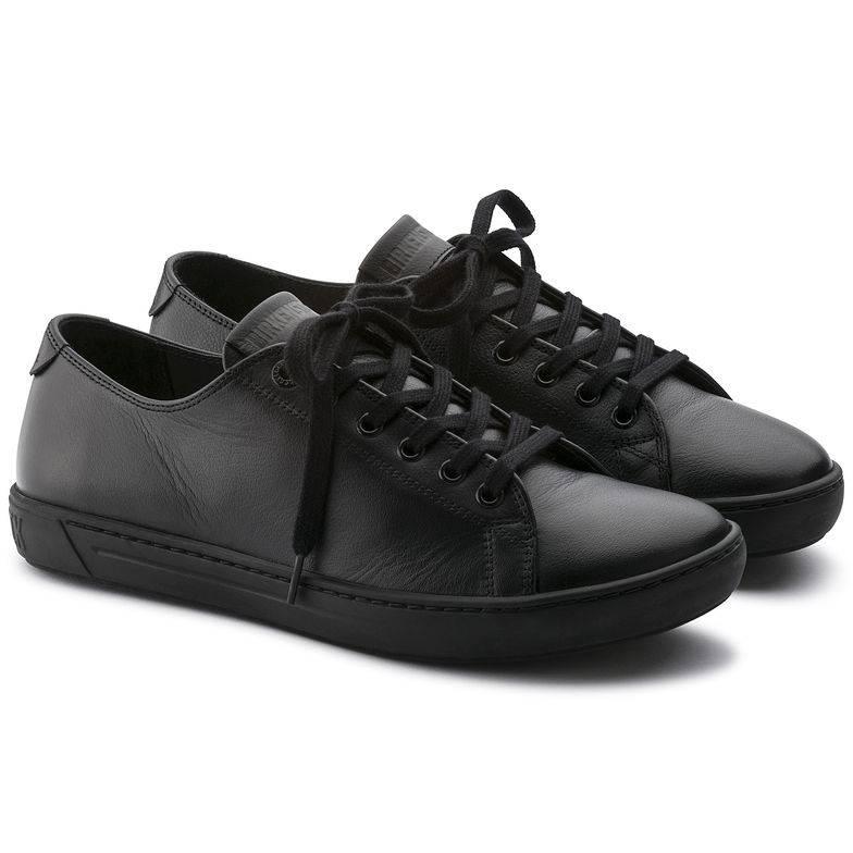 BIRKENSTOCK Arran Sneaker schwarz Black Naturleder Leder normal