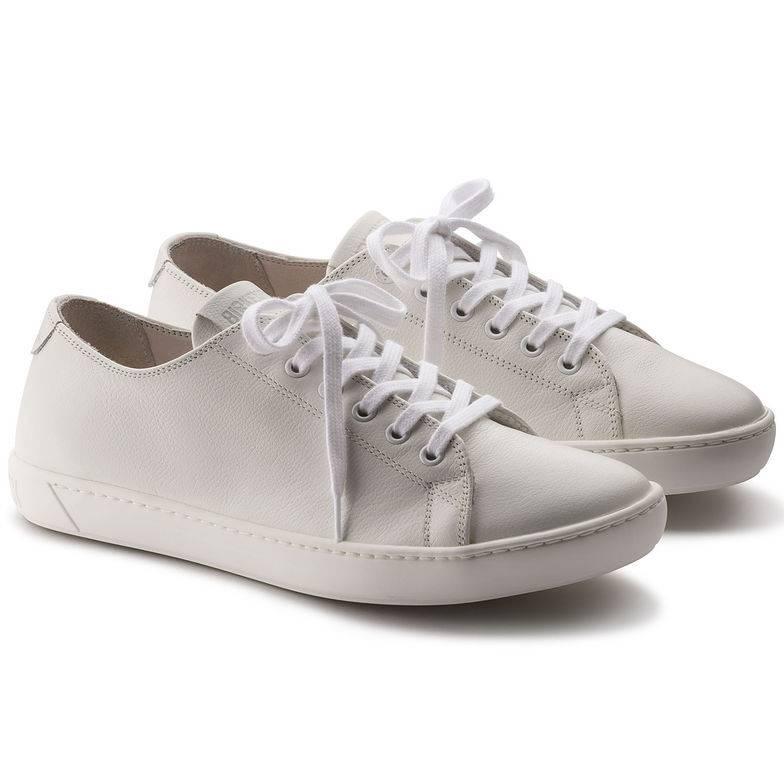 BIRKENSTOCK Arran Sneaker weiß White Naturleder Leder normal