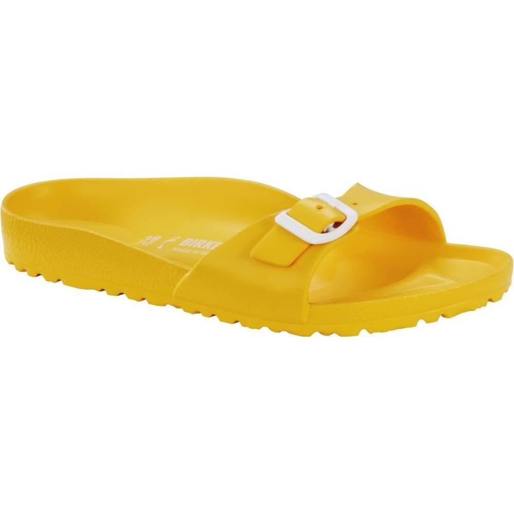 BIRKENSTOCK Madrid EVA 1-Riemen-Sandale gelb Scuba Yellow EVA schmal