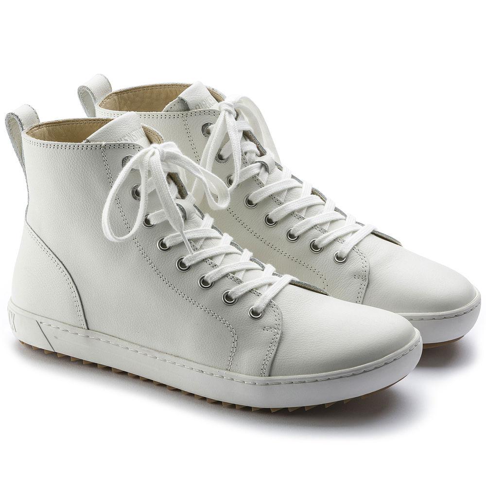BIRKENSTOCK Bartlett Halbhohe Stiefel weiß white Naturleder Leder normal